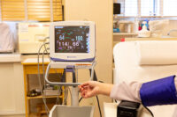 血圧及び酸素飽和度測定